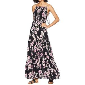 Free People Flowy Maxi Dress Black